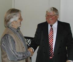 Bankdir.i.R. Hans J. Schwabe bei ökofinanz-21
